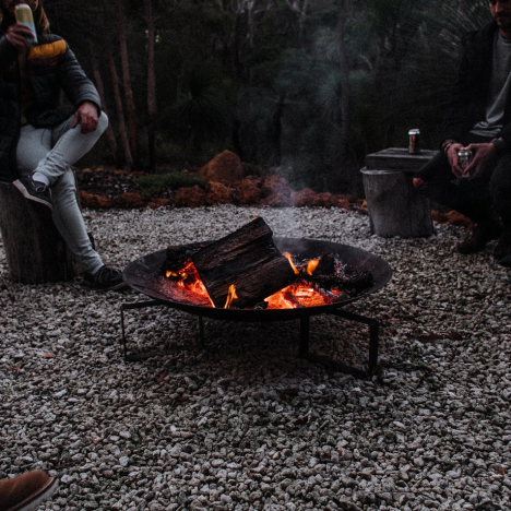 Setting up camp in the desert the Gulf's #1 side interest in the colder time of year
